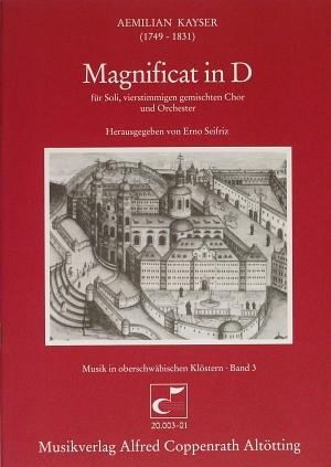 Kayser: Magnificat in D (D-Dur)