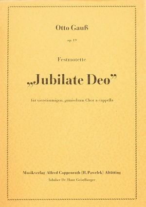 Gauß: Jubilate Deo (Op.19; B-Dur)