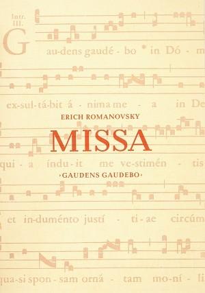 Romanovsky: Missa Gaudens gaudebo