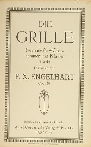 Engelhart: Die Grille (Op.84; D-Dur)
