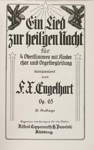 Engelhart: Ein Lied zur heil'gen Nacht (Op.65)