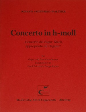 Walther: Concerto in h-moll (h-Moll)