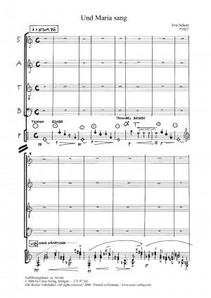 Schorr: Und Maria sang