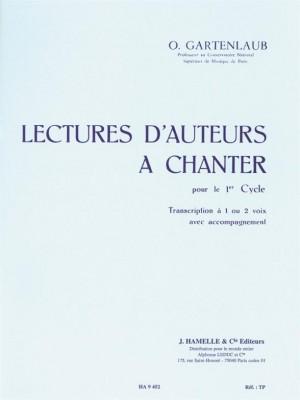 Gartenlaub: Lectures D'Auteurs A Chanter