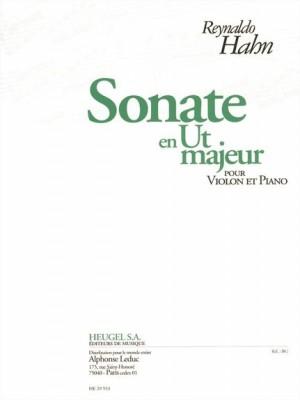 Reynaldo Hahn: Sonate En Ut Majeur