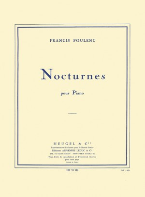 Francis Poulenc: Nocturnes For Piano Product Image