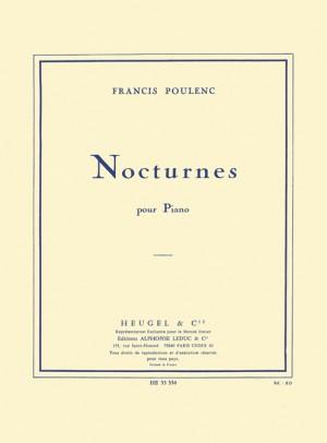Francis Poulenc: Nocturnes For Piano