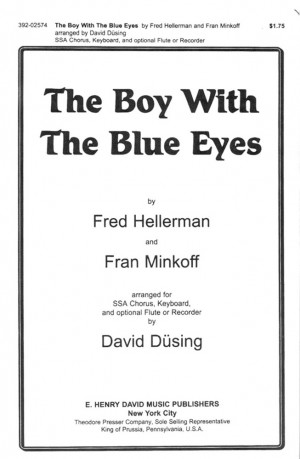 Fran Minkoff_Fred Hellerman_David Dusing: The Boy With The Blue Eyes Product Image