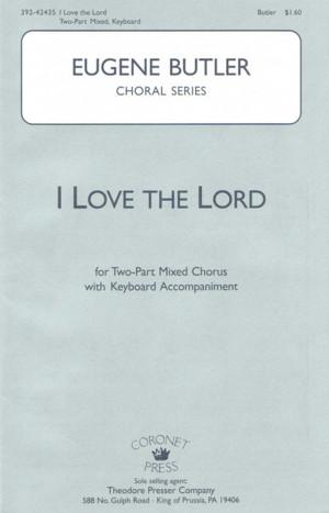 Eugene Butler: I Love The Lord