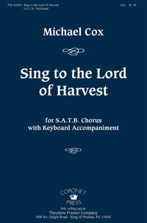 Michael Cox: Sing To The Lord Of Harvest