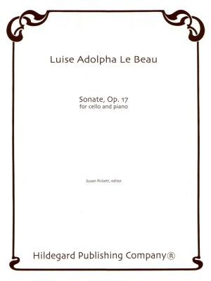 Luise Adolpha Le Beau: Sonata Op.17