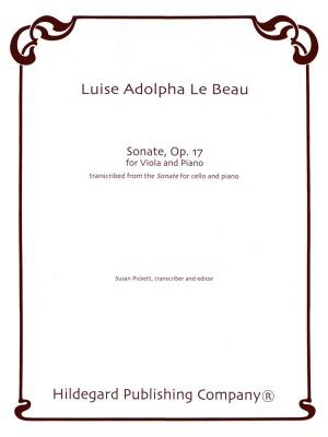 Luise Adolpha Le Beau: Sonate