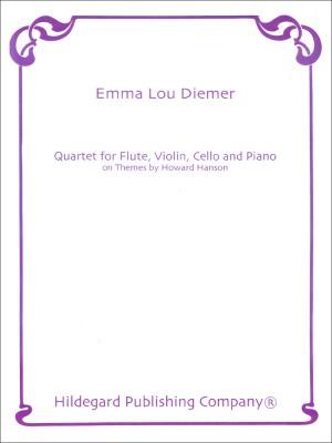 Emma Lou Diemer: Quartet for Flute, Violin, Cello and Piano