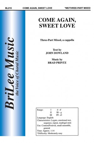 John Dowland: Come Again, Sweet Love