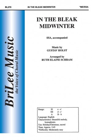 Gustav Holst: In The Bleak Midwinter