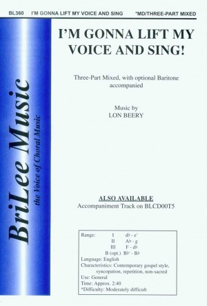 Lon Beery: I'm Gonna Lift My Voice and Sing!