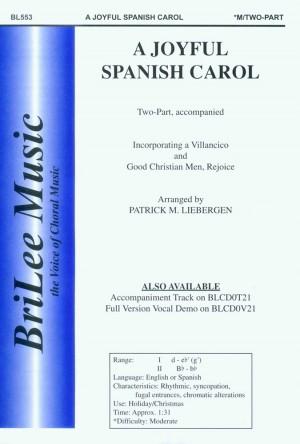 Patrick M. Liebergen: Joyful Spanish Carol, A