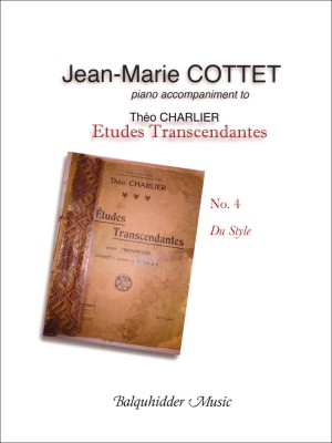 Jean-Marie Cottet: Charlier Etude No. 4
