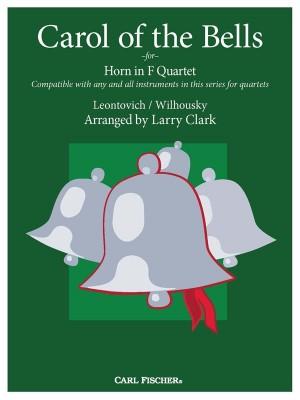 Carol of the Bells for Horn in F Quartet