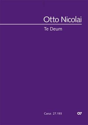 Nicolai, Otto: Te Deum (1832)