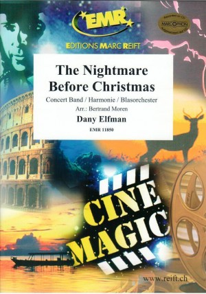 Danny Elfman: The Nightmare before Christmas   Presto Sheet
