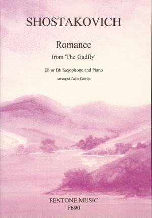 Shostakovich: Romance (from The Gadfly) (page 1 of 3) | Presto Sheet