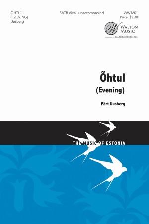 Pärt Uusberg: Õhtul (Ohtul) Product Image