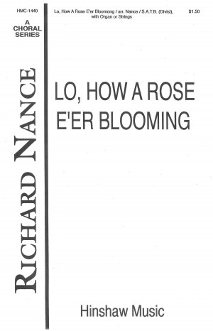 Michael Praetorius: Lo, How A Rose E'er Blooming