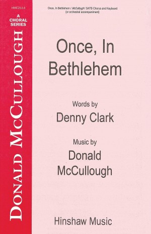 Donald McCullough: Once In Bethlehem