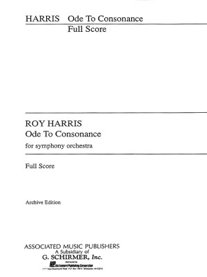 Roy Harris: Ode To Consonance