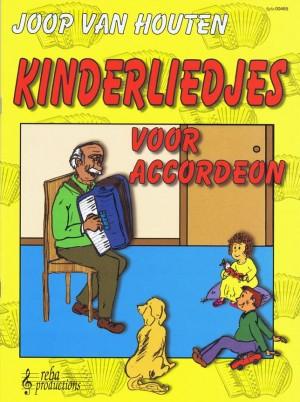 J. van Houten: Kinderliedjes Voor Accordeon