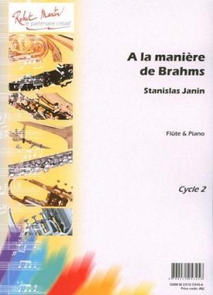 Stanislas Janin: A La Maniere De Brahms