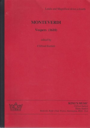 Monteverdi: Vespers (1610) Score (Red Version)