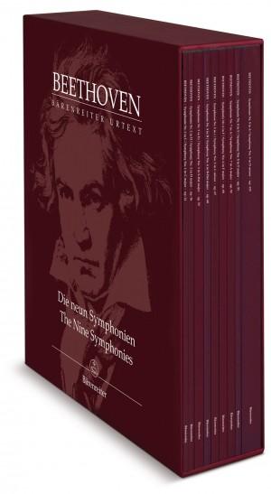 Beethoven, L van: Symphonies 1 - 9, complete (Urtext) (ed. Del Mar)