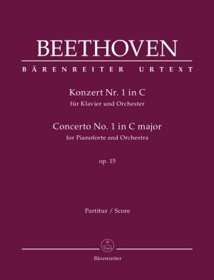 Beethoven, Ludwig van: Concerto for Pianoforte and Orchestra no. 1 C major op. 15