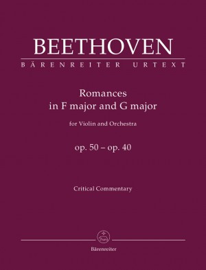 Beethoven, L van: Romances for Violin and Orchestra, Op.50 and Op.40 (Urtext)
