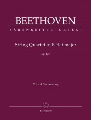 Beethoven, Ludwig van: String Quartet E-flat major op. 127