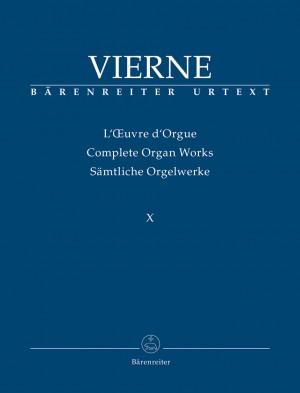Vierne, Louis: Improvisations (1928) / Transcriptions (1894 / 1901 / 1932)