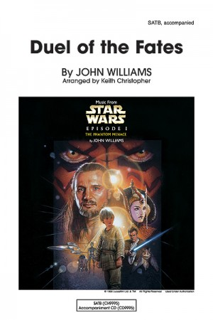 John Williams: Duel of the Fates SATB
