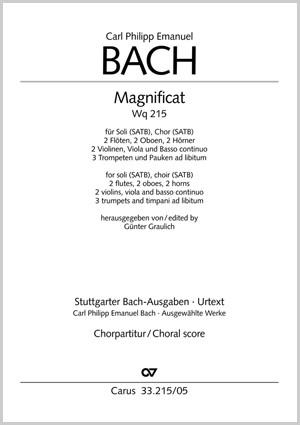 Bach, CPE: Magnificat (Wq 215)