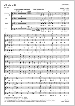 Vivaldi: Gloria in D major, RV589