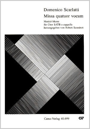 Scarlatti: Missa brevis quatuor vocum (g-Moll)