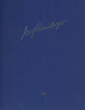 Rheinberger: Kleinere Orgelwerke ohne Opuszahl in Auswahl (Supplementband 3 der Rheinberger-Gesamtausgabe)
