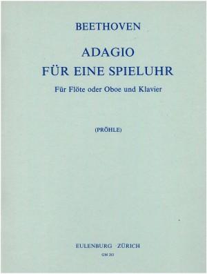 Beethoven, Ludwig van: Adagio für eine Spieluhr  WoO 33/1