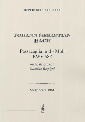 Bach, JS/Respighi: Passacaglia in Do minore for orchestra