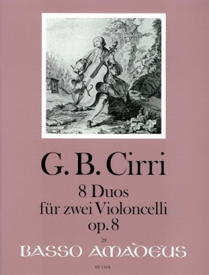 Cirri, G B: 8 Duets op. 8
