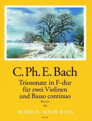 Bach, C P E: Trio Sonata in F Major Wq 154