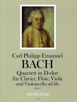Bach, C P E: Quartet in D major Wq 94