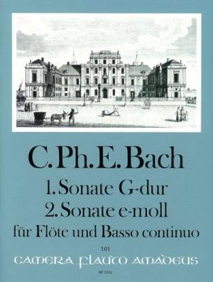 Bach, C P E: Sonatas No. 1 G major & No. 2 E minor Wq 123/124