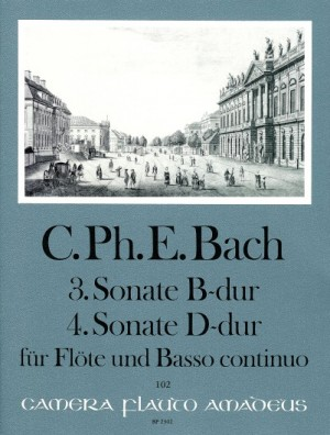 Bach, C P E: Sonatas No. 3 Bb major & No. 4 D major Wq 125/126